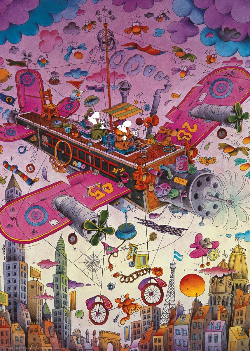 Fly with me! Planes Jigsaw Puzzle