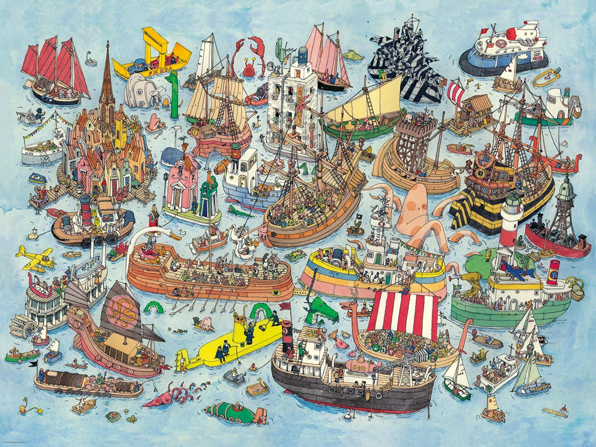 Regatta Boats Jigsaw Puzzle