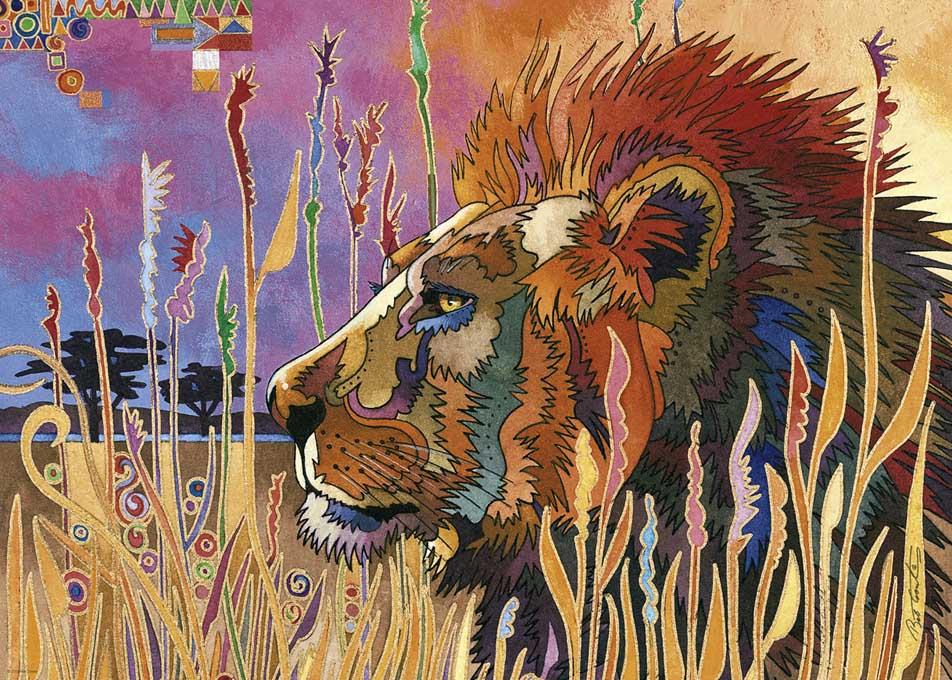 Take a Break Lions Jigsaw Puzzle