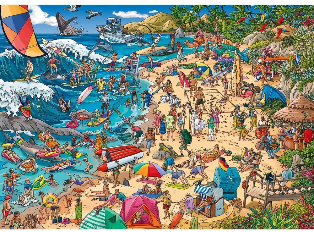 Seashore Beach Jigsaw Puzzle