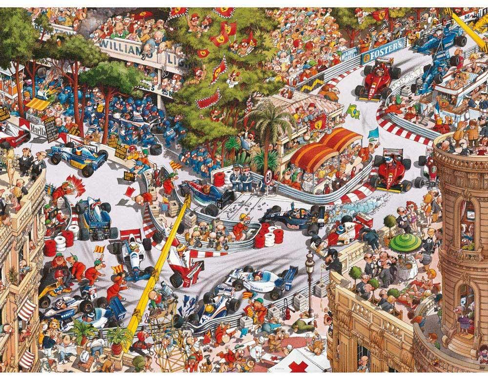 Monaco Classics Cars Jigsaw Puzzle