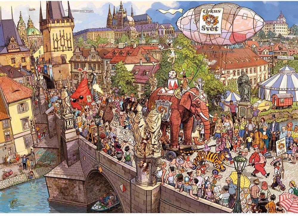 Street Parade Graphics / Illustration Jigsaw Puzzle