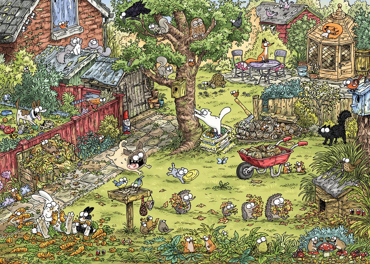 Garden Adventure Garden Jigsaw Puzzle