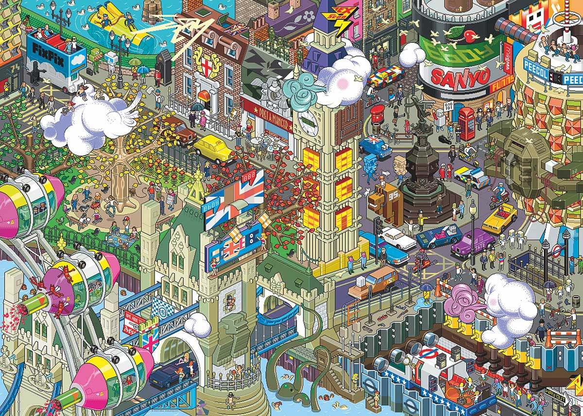 London Quest Travel Jigsaw Puzzle