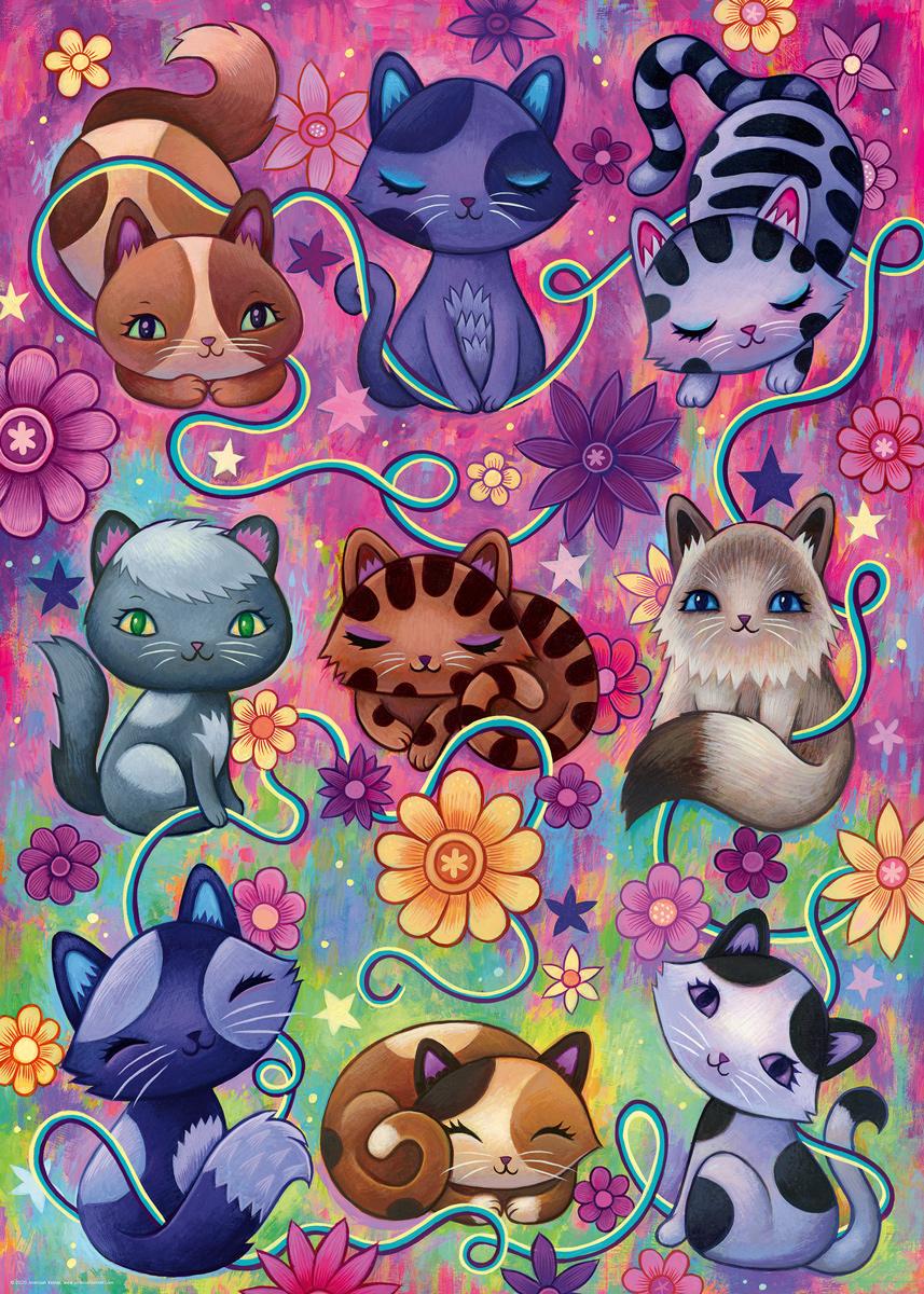 Kitty Cats Cats Jigsaw Puzzle