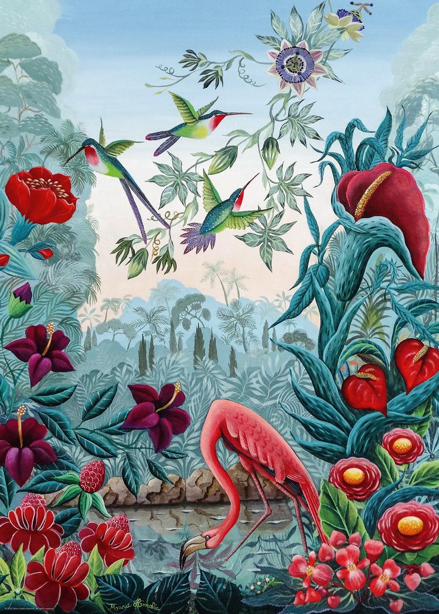 Bird Paradise Birds Jigsaw Puzzle