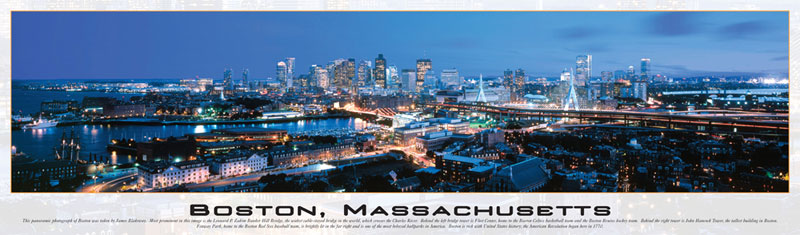 Boston, Massachusetts Boston Jigsaw Puzzle
