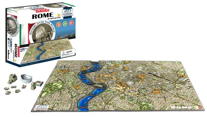Rome Skyline / Cityscape Jigsaw Puzzle