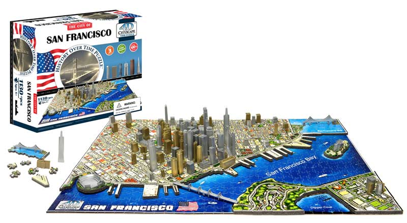 San Francisco Maps / Geography Jigsaw Puzzle