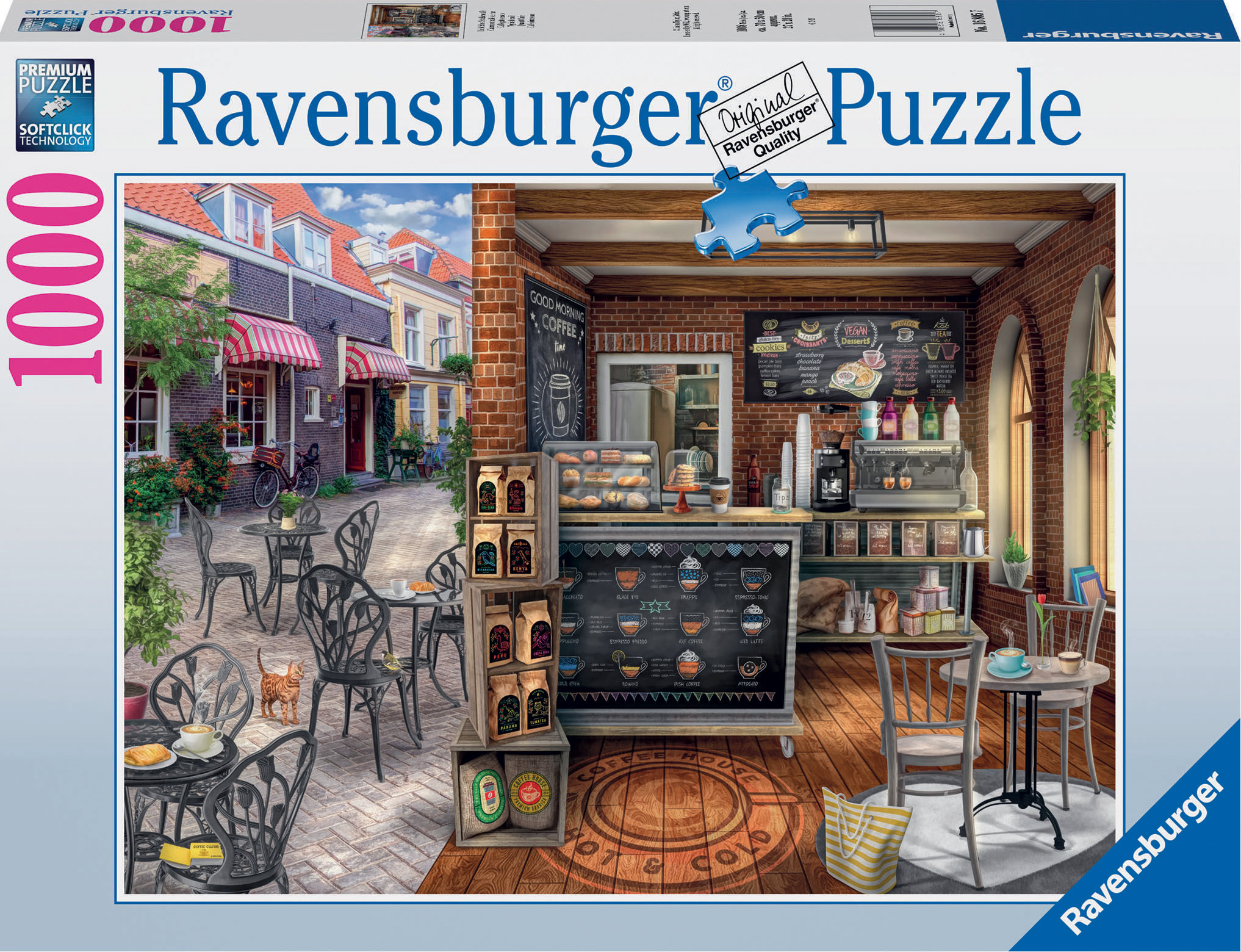 Quaint Café Food and Drink Jigsaw Puzzle