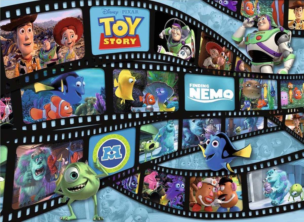 Filmstrip Friends Disney Jigsaw Puzzle
