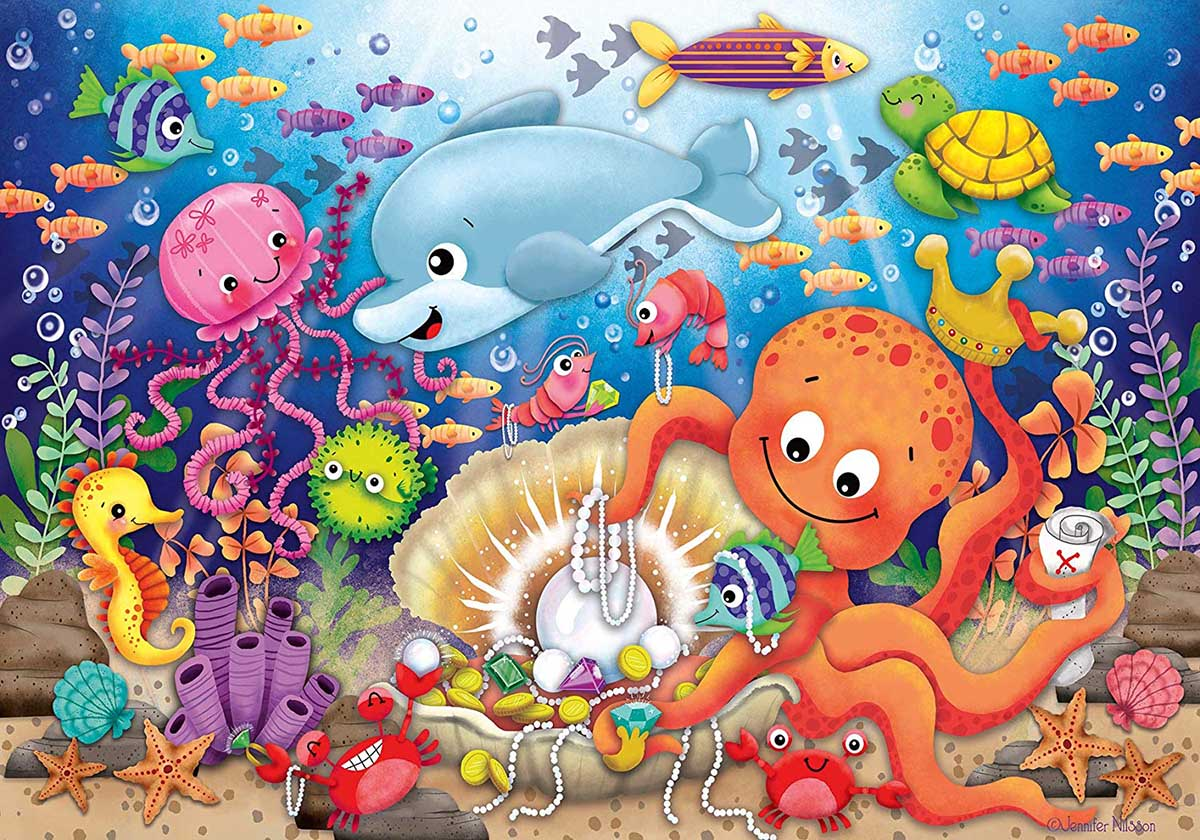 Fishie's Fortune Under The Sea Large Piece