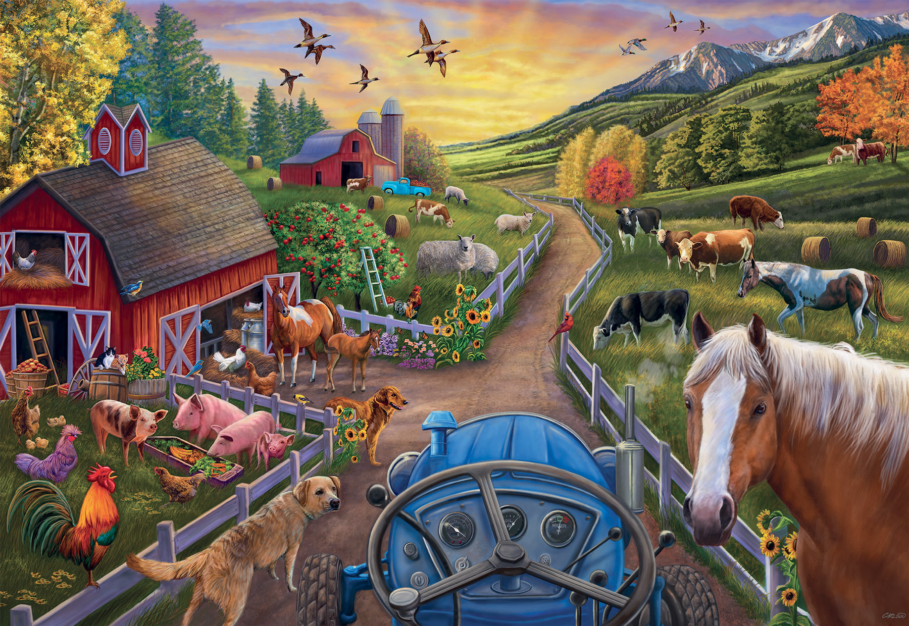 My First Farm Farm Jigsaw Puzzle