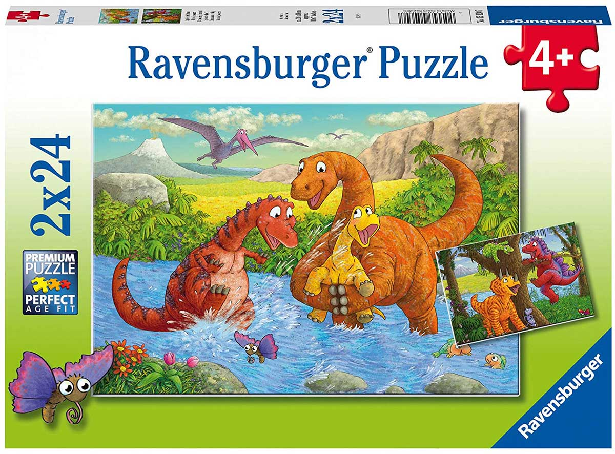 Dinosaurs at Play Dinosaurs Jigsaw Puzzle