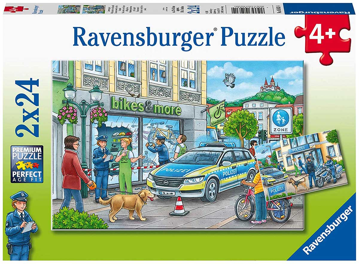 Police at Work! People Jigsaw Puzzle