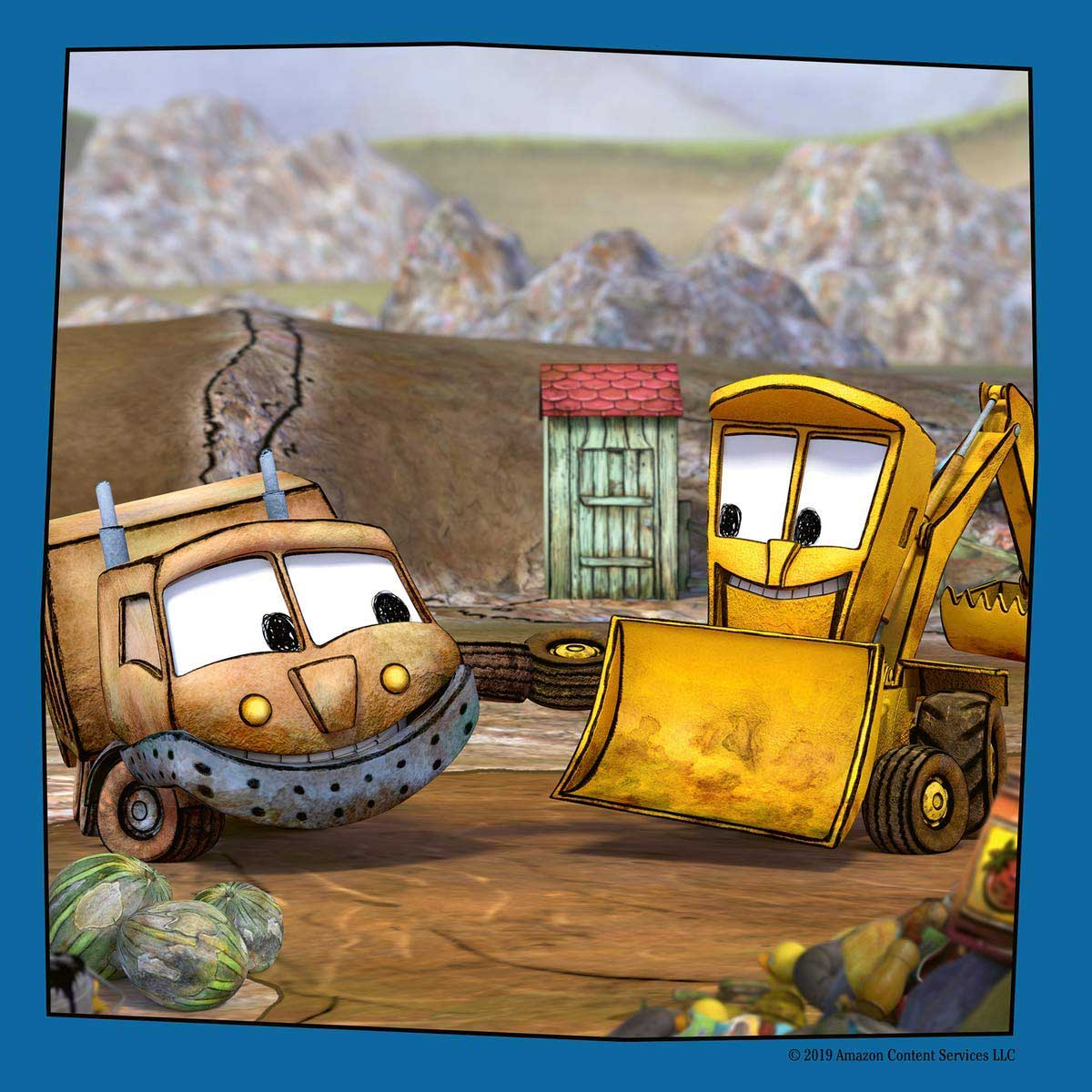 Dirty & Stinky: Buddies - Scratch and Dent Vehicles Jigsaw Puzzle