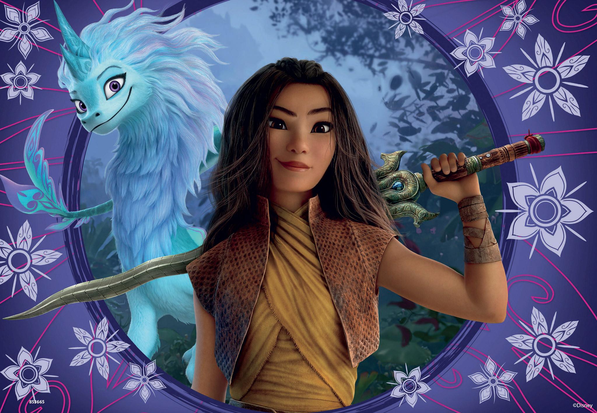 Raya and the Last Dragon Disney Jigsaw Puzzle