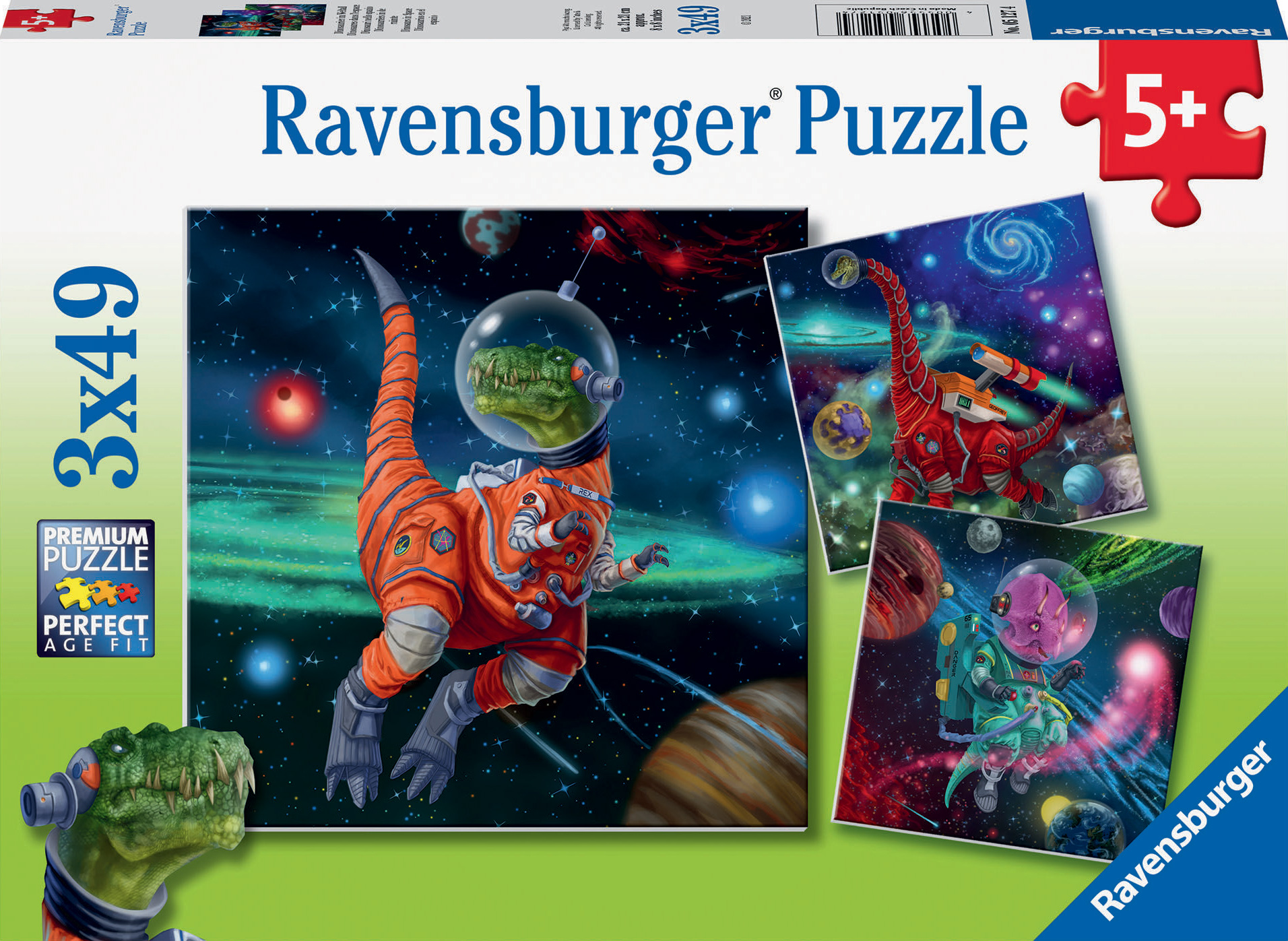 Dinosaurs in Space Space Jigsaw Puzzle