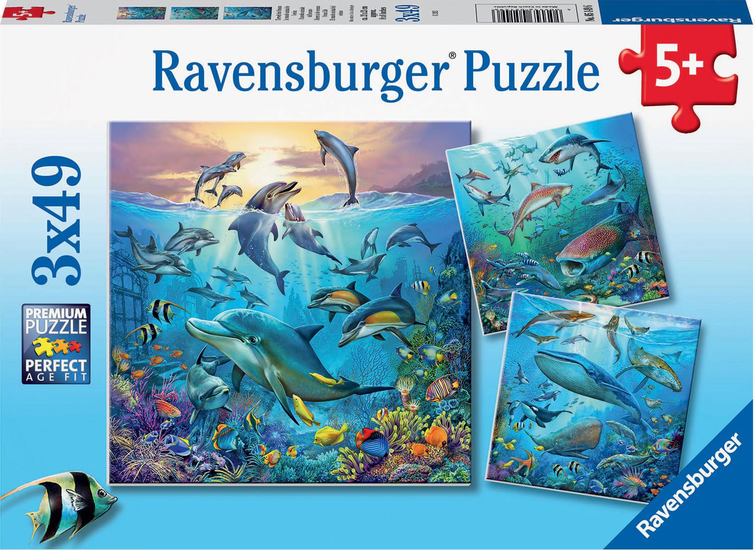 Ocean Life Under The Sea Children's Puzzles