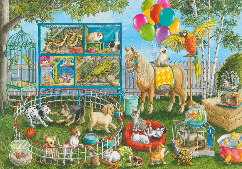 Pet Fair Fun Animals Jigsaw Puzzle