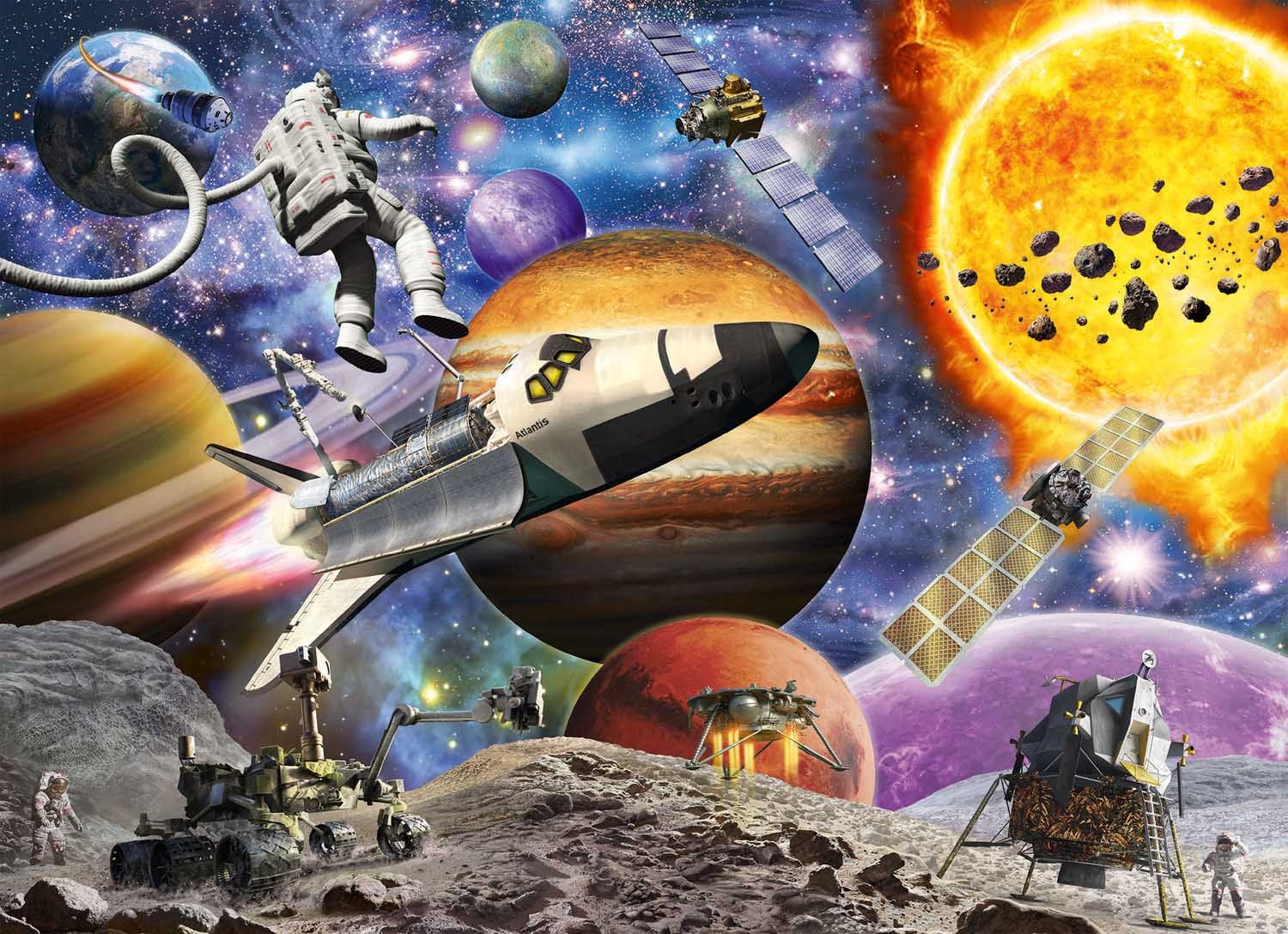 Explore Space Space Jigsaw Puzzle