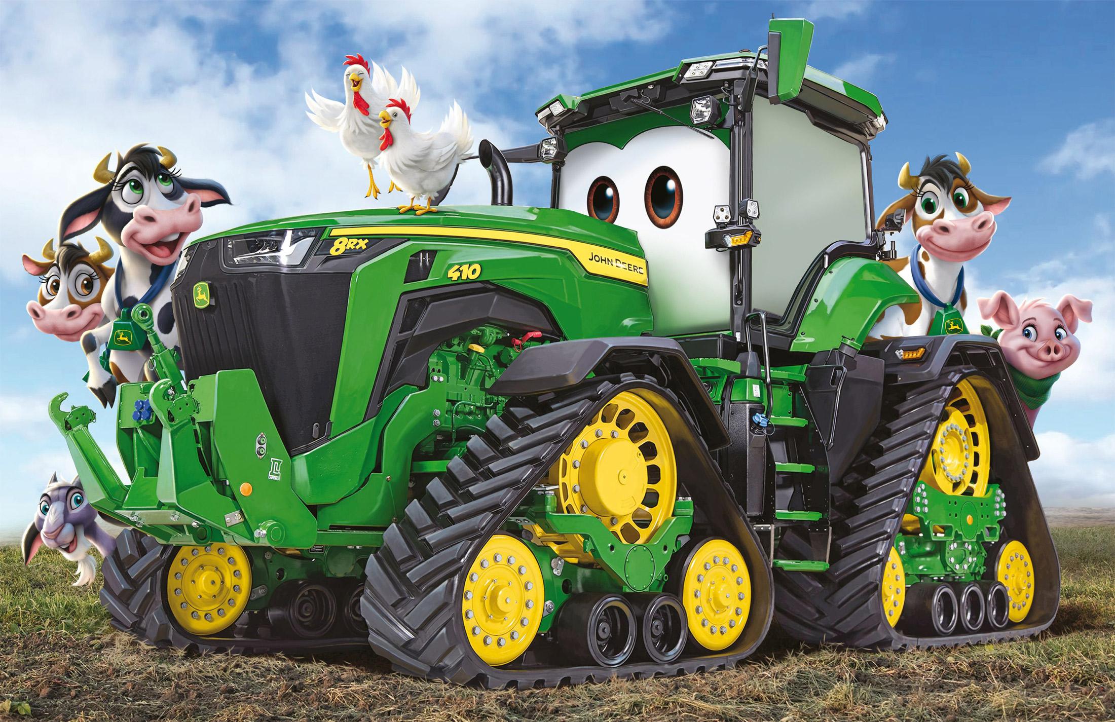 John Deere Tractor Disney Jigsaw Puzzle