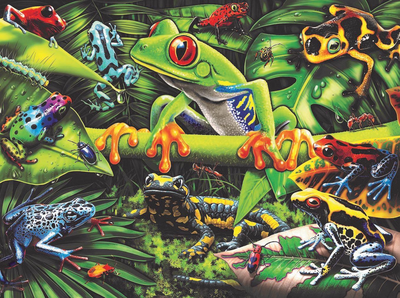 Amazing Amphibians Reptiles / Amphibians Jigsaw Puzzle