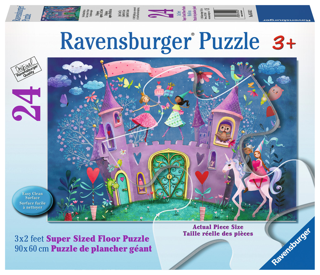 Brilliant Birthday Castles Jigsaw Puzzle
