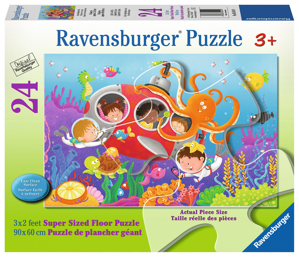 Deep Diving Friends Under The Sea Jigsaw Puzzle