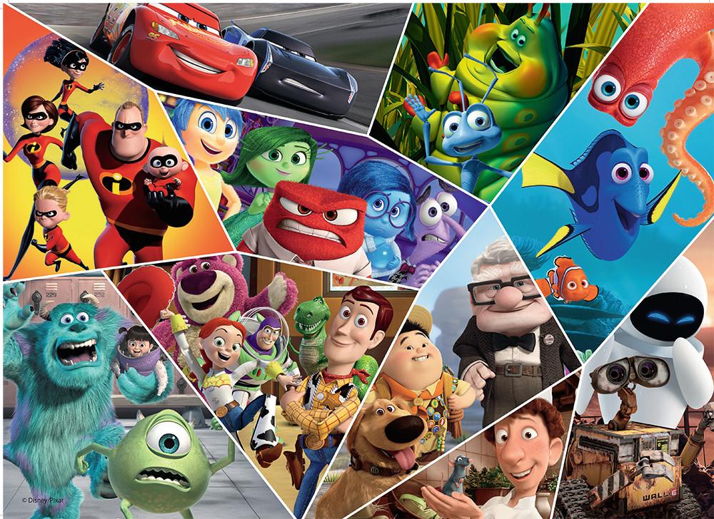 Ultimate Pixar Disney Jigsaw Puzzle
