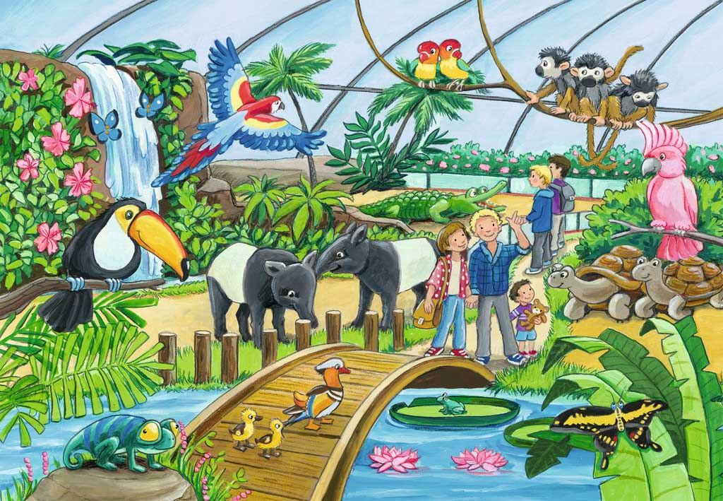Welcome to the Zoo Animals Jigsaw Puzzle