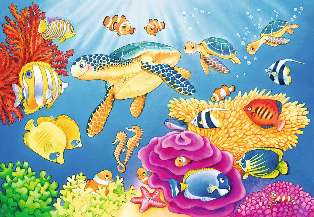 Vibrance Under the Sea Under The Sea Jigsaw Puzzle