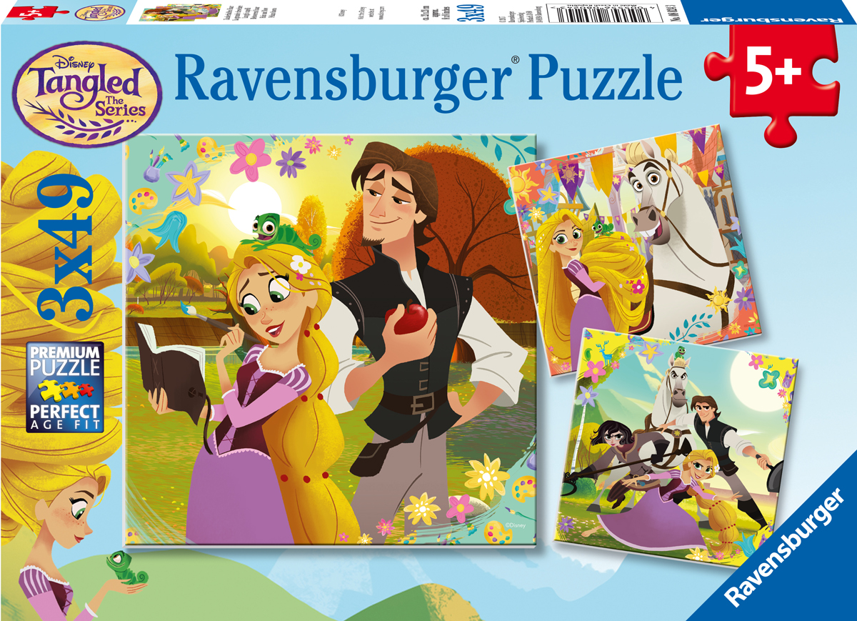 Tangled TV Series - Scratch and Dent Disney Jigsaw Puzzle