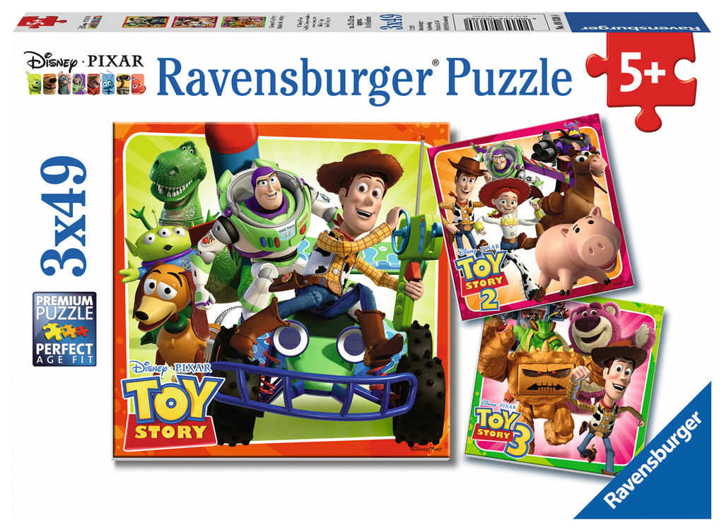 Toy Story History Movies / Books / TV Jigsaw Puzzle