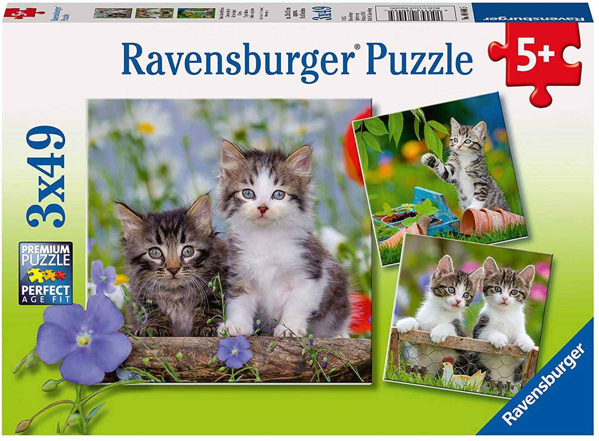 Cuddly Kittens Cats Jigsaw Puzzle