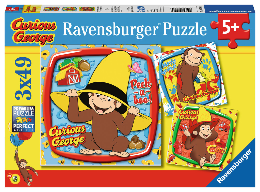 Curious George and Friends Cartoons Jigsaw Puzzle