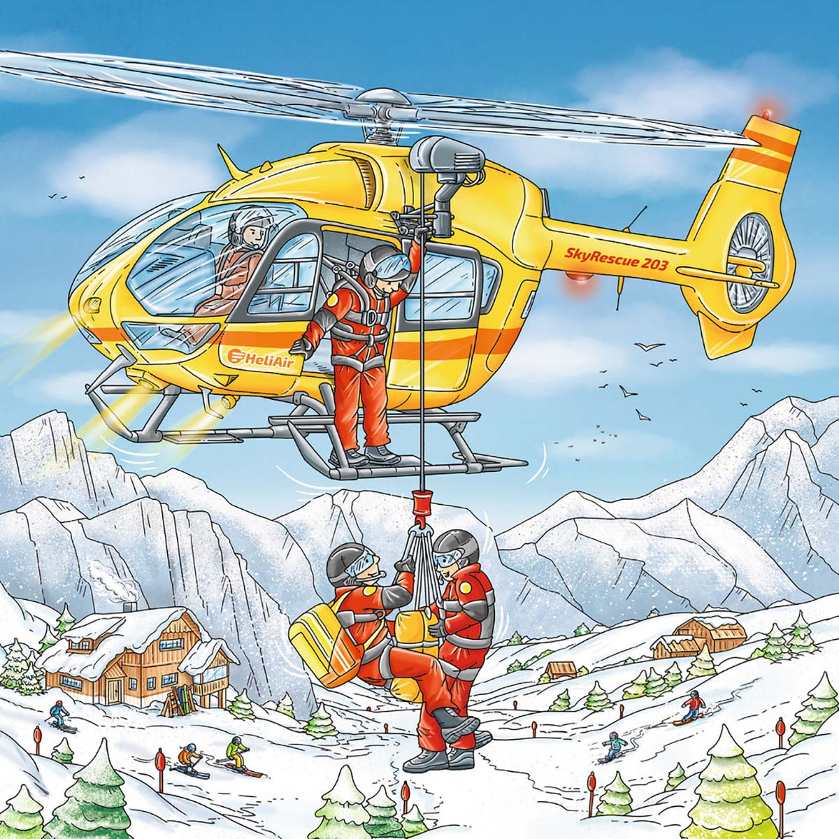 Let's Go Skiing! Sports Jigsaw Puzzle
