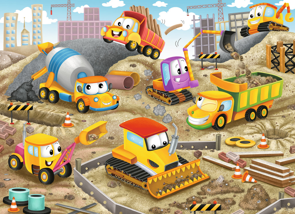 Raise the Roof! Vehicles Jigsaw Puzzle