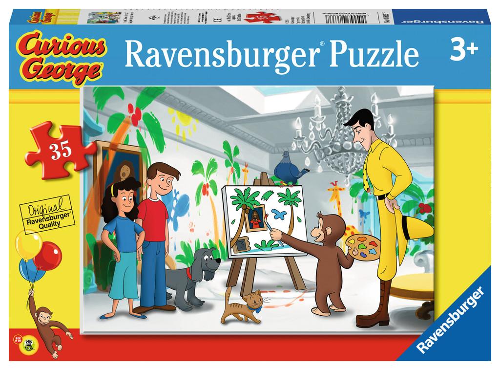 Look Curious George! Cartoons Jigsaw Puzzle