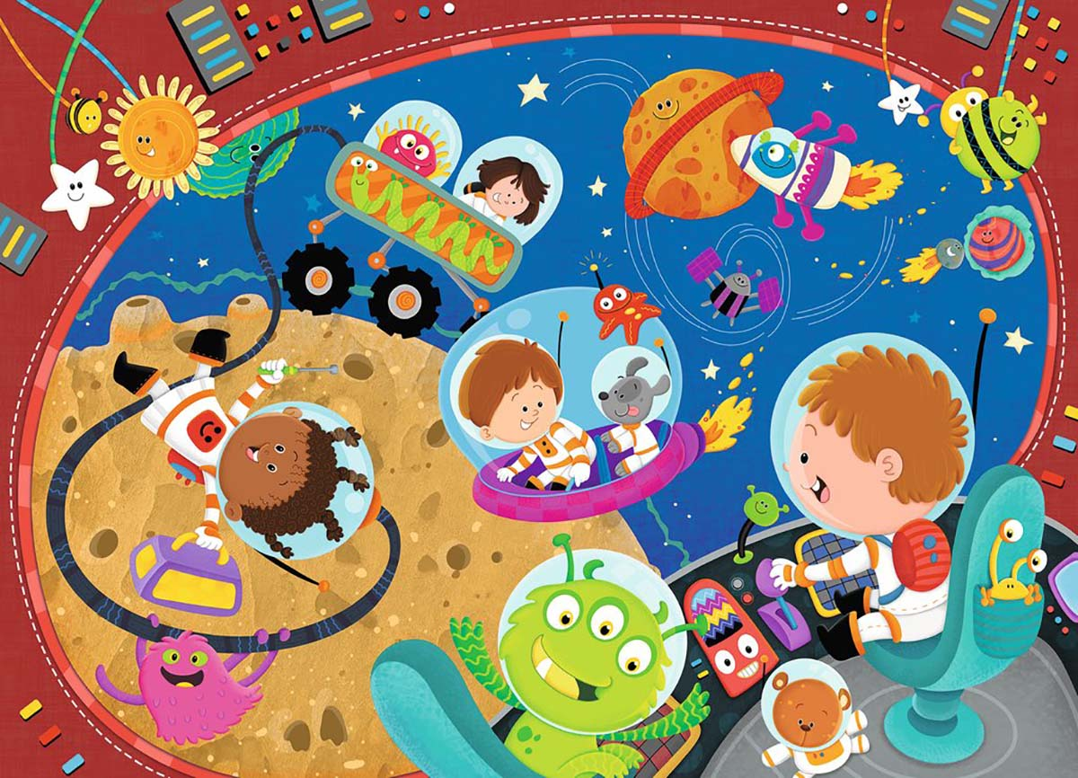 Recess in Space! Cartoons Jigsaw Puzzle