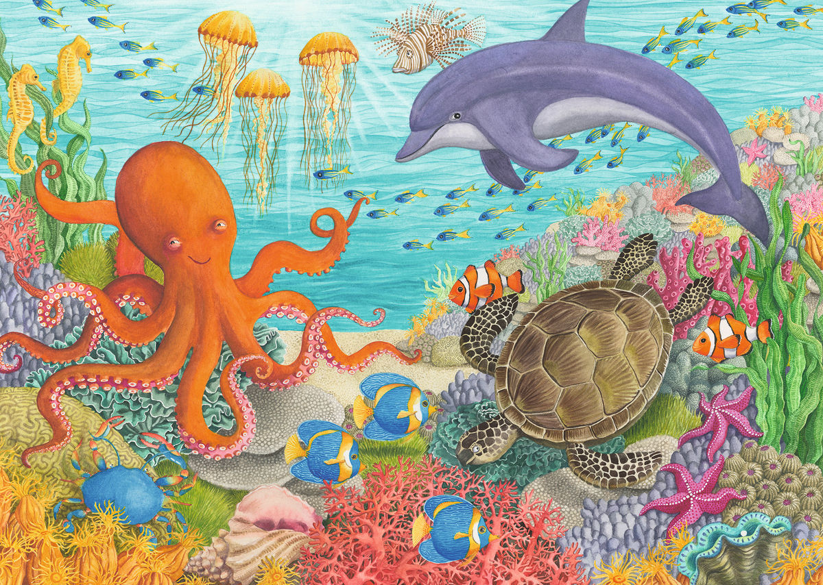 Ocean Friends Under The Sea Jigsaw Puzzle