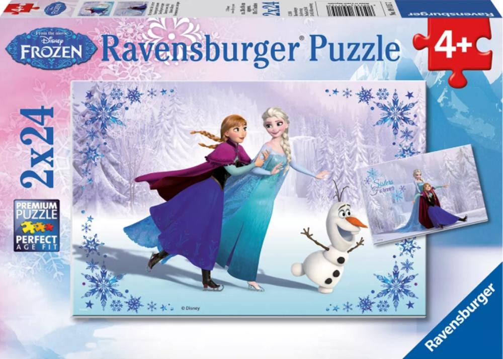 Frozen: Sisters Always Disney Jigsaw Puzzle