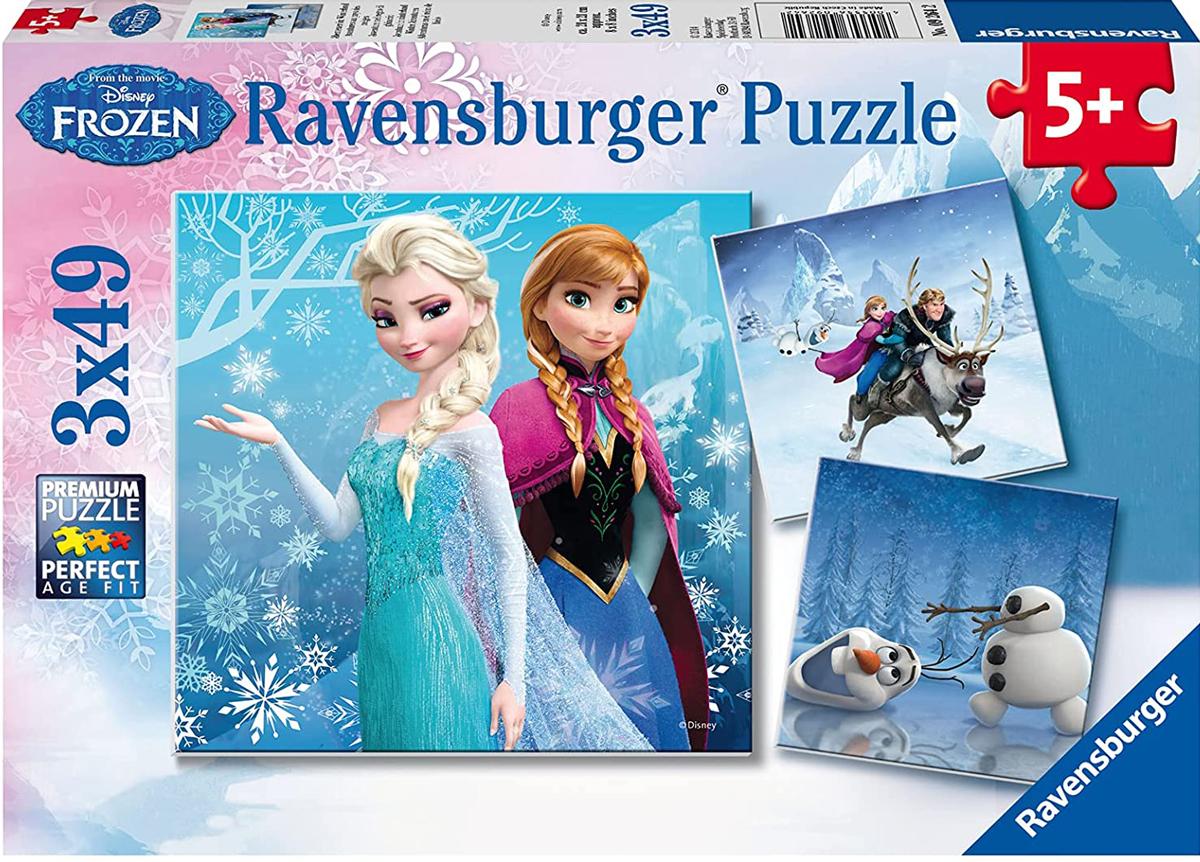 Frozen Winter Adventures Disney Jigsaw Puzzle