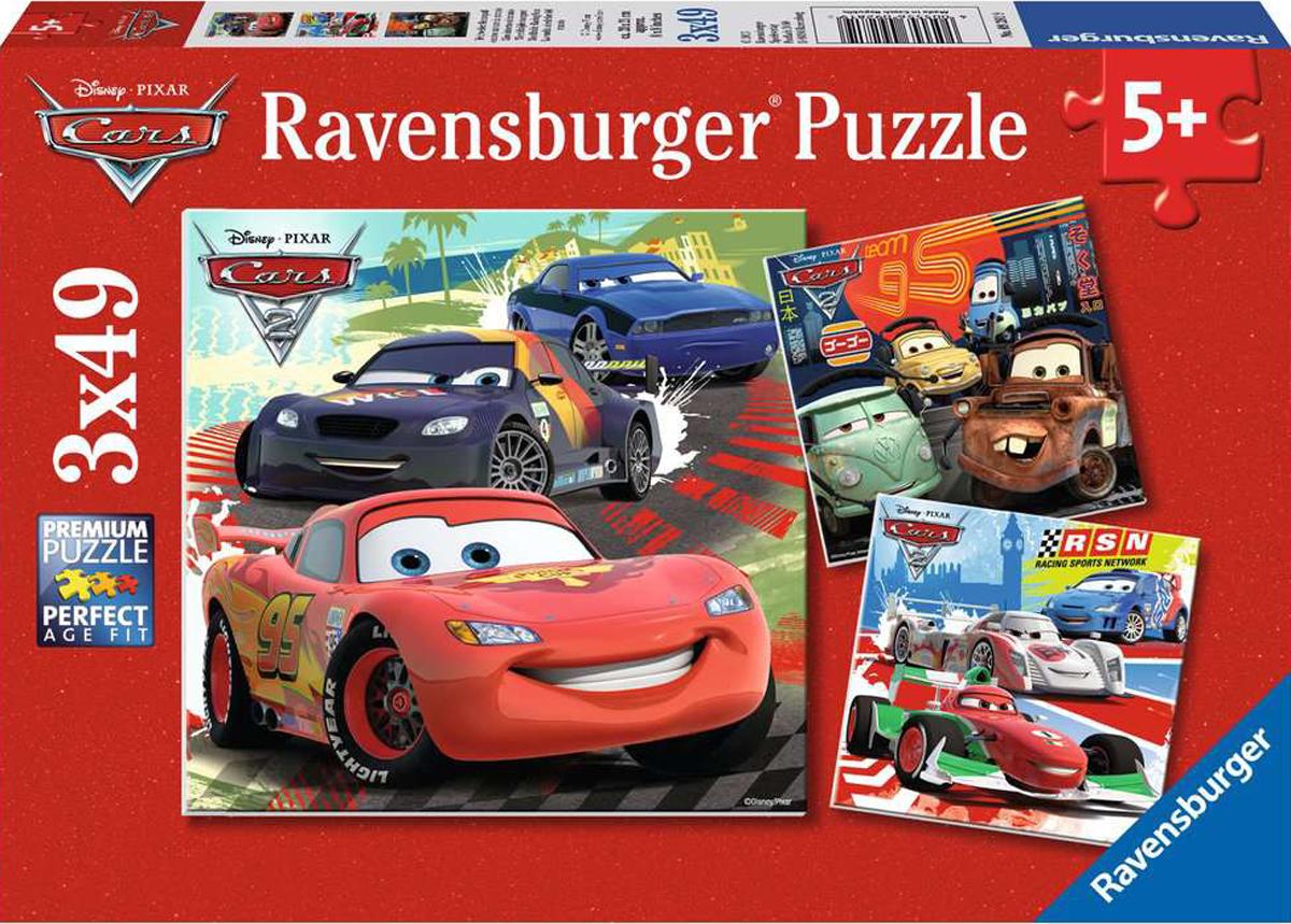 Worldwide Racing Fun Disney Jigsaw Puzzle