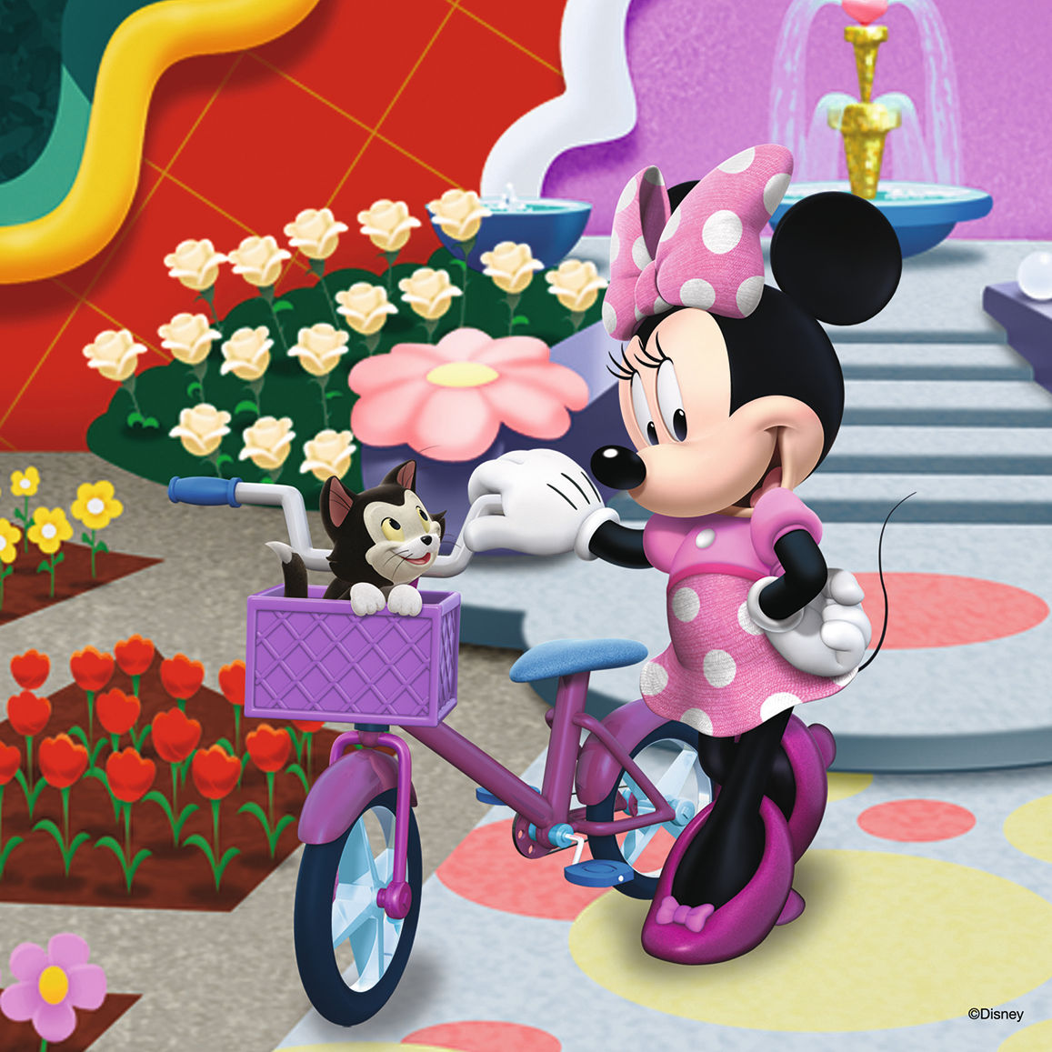Beautiful Minnie Mouse Jigsaw Puzzle Puzzlewarehouse Com
