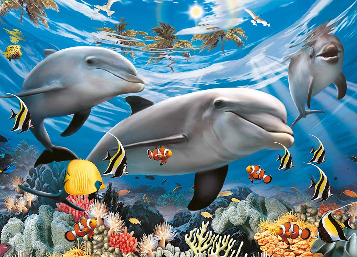 Caribbean Smile Under The Sea Jigsaw Puzzle