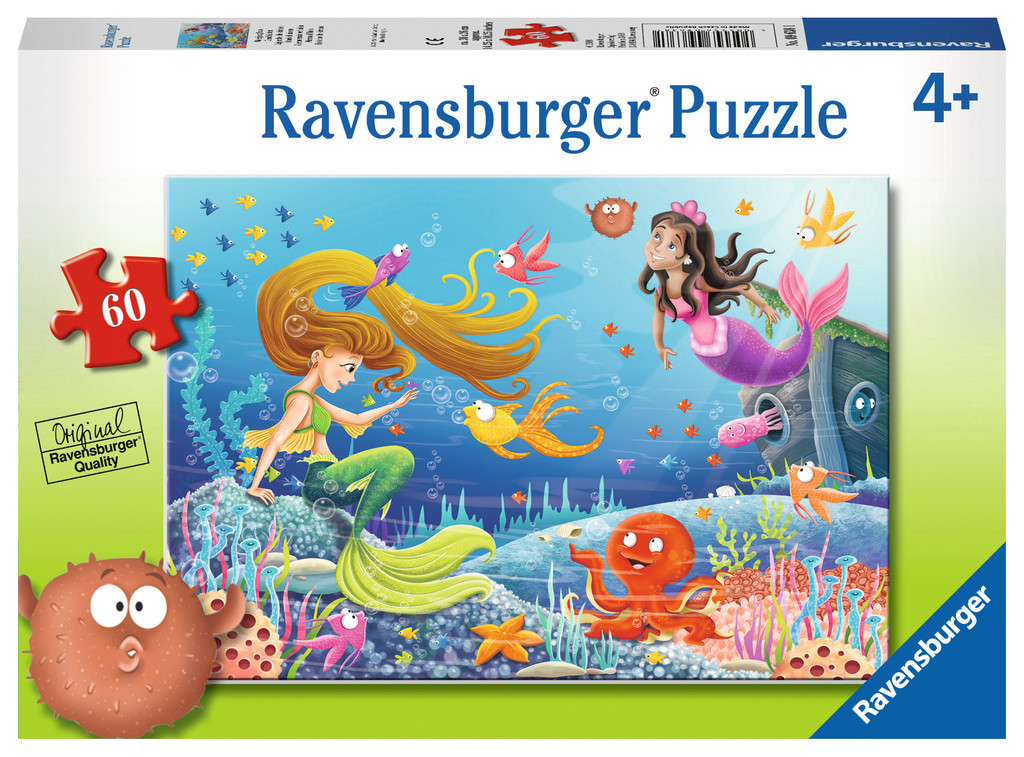 Mermaid Tales Under The Sea Jigsaw Puzzle