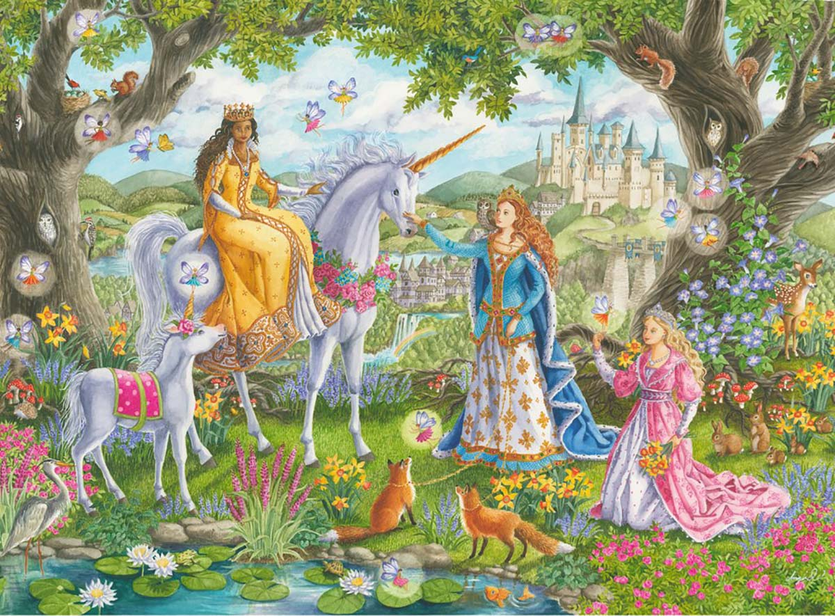 Princess Party Fantasy Jigsaw Puzzle