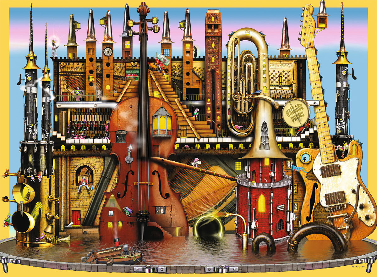 Music Castle Jigsaw Puzzle Puzzlewarehouse Com