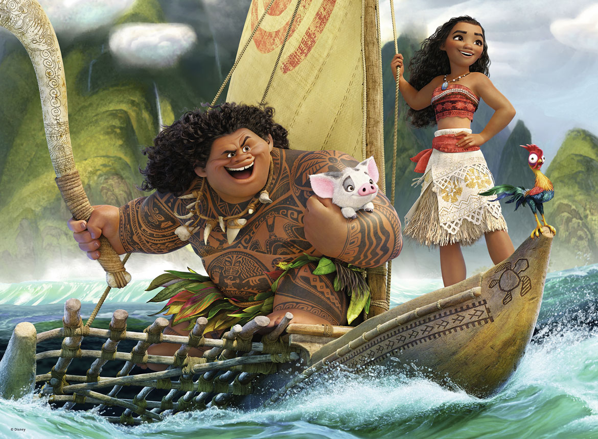Moana And Maui Jigsaw Puzzle Puzzlewarehouse Com